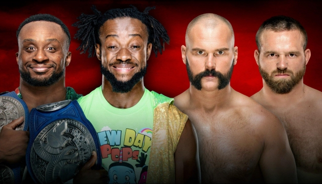 Le New Day vs Revival devient un Ladder Match