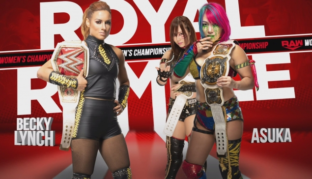 Royal Rumble : Becky Lynch enfin victorieuse face à Asuka ?