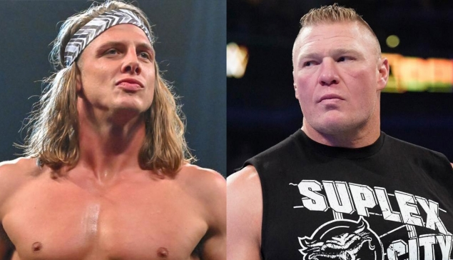 Altercation entre Brock Lesnar et Matt Riddle dans les coulisses du Royal Rumble !