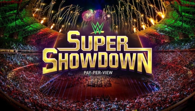 Le WWE Super ShowDown retourne en Arabie saoudite en février