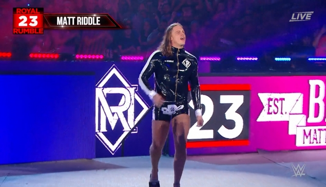 Royal Rumble : Quand Matt Riddle s'amuse des rumeurs