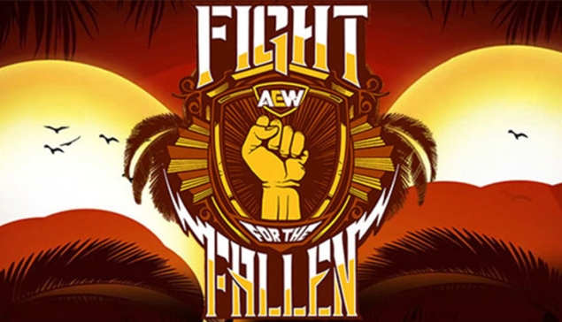 Carte de AEW Fight for the Fallen 2020