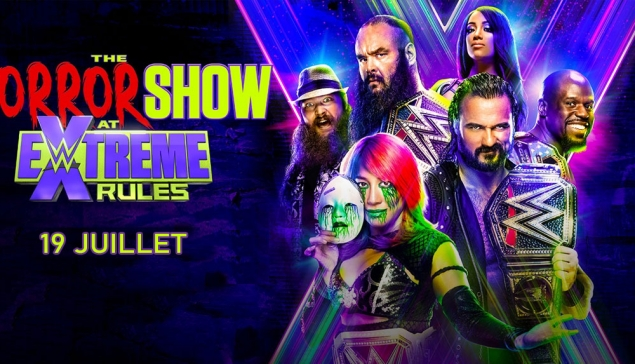 Carte de WWE Extreme Rules 2020