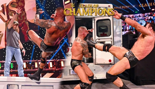 Randy Orton à l'hôpital ? (Review WWE Clash of Champions 2020)